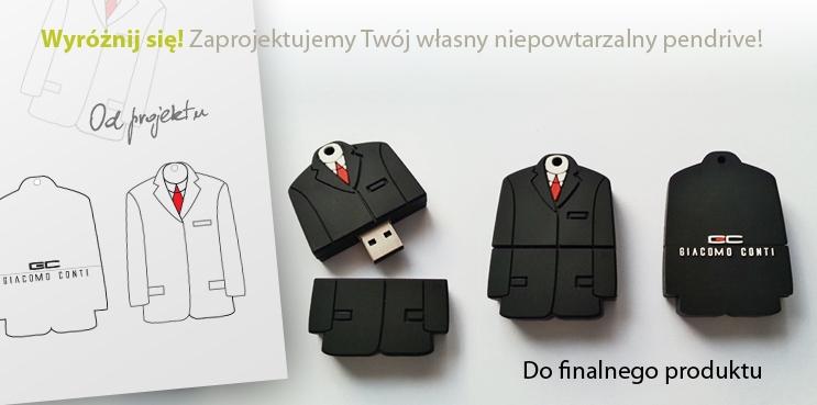 Zaprojektuj Twój własny niepowtarzalny pendrive!
